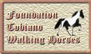 Foundation Tobiano Tennessee Walking Horse Button for your site